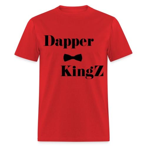 Dapper KingZ (Red) - Men's T-Shirt