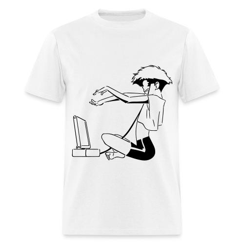 Manga Hacker Men - Men's T-Shirt