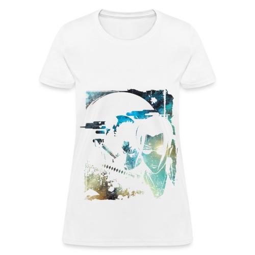 Samurai Grunge Woman - Women's T-Shirt
