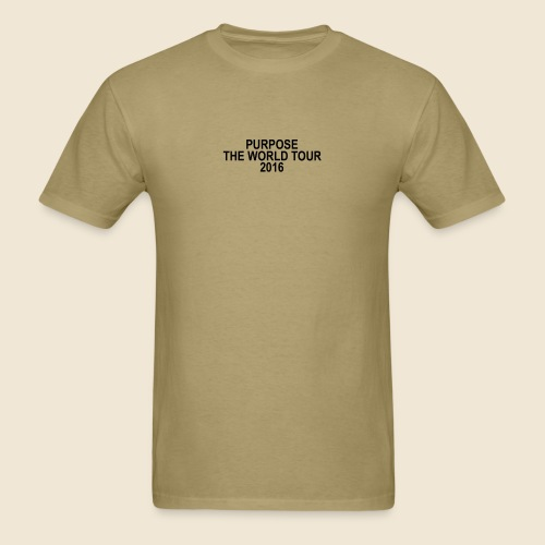 Purpose Tour Inspired Merch - Mark My Words  - Men's T-Shirt