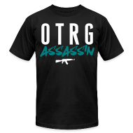 T-Shirts ~ Men's T-Shirt by American Apparel ~ ASSASSIN