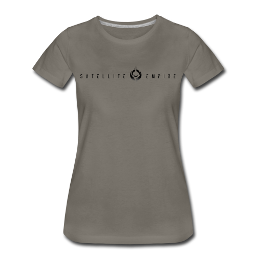 Womens Premium Satellite Empire Logo Shirt - Women's Premium T-Shirt