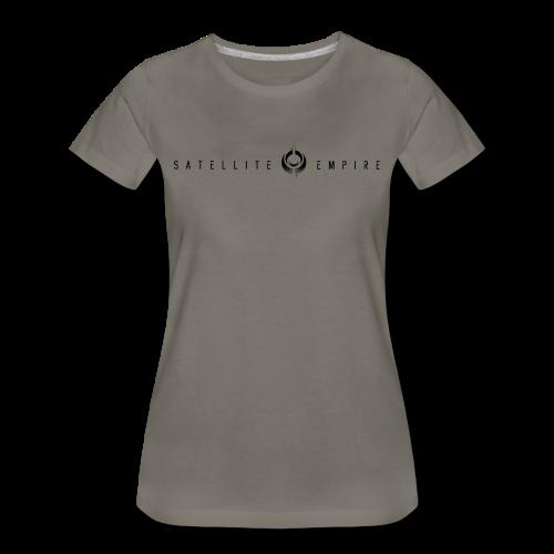 Womens Premium Satellite Empire Logo Shirt - Women's Premium T-Shirt