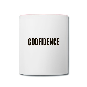 Godfidence - Contrast Coffee Mug