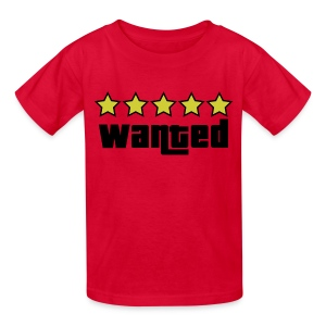 GTA Wanted kids - Kids' T-Shirt