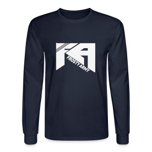Black Long Sleeve Frosty Army - Men's Long Sleeve T-Shirt