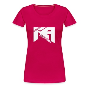 Pink Female Frosty Army T-Shirt - Women's Premium T-Shirt