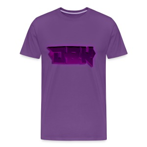 DBK Magenta - Both Design - Men's Premium T-Shirt
