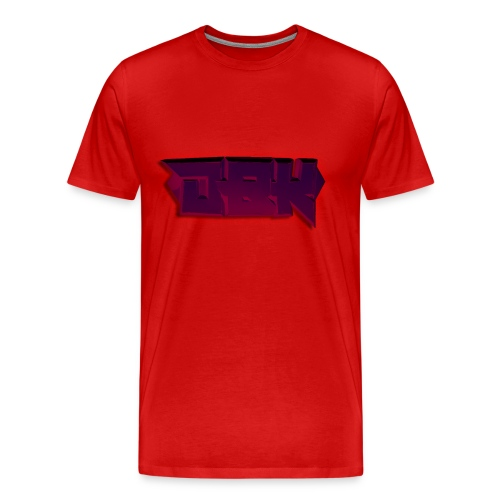 DBK Red - Gio Design - Men's Premium T-Shirt