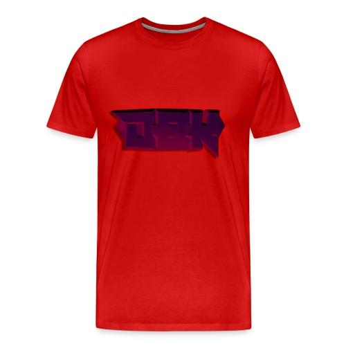 DBK Red - Gio Design - Men's Premium T-Shirt