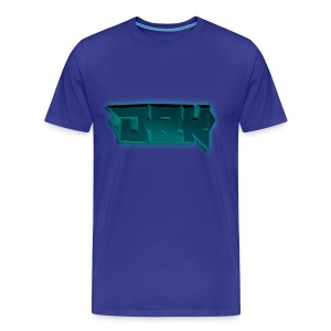 DBK Blue - Darien Design - Men's Premium T-Shirt