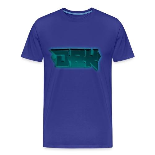 DBK Blue - Darien Design - Men's Premium T-Shirt