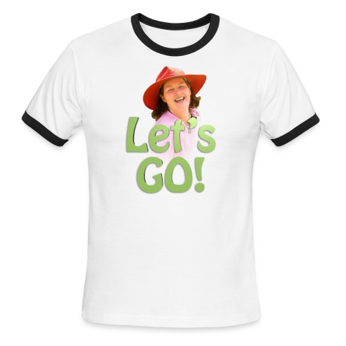 Let's Go - Men's - Men's Ringer T-Shirt