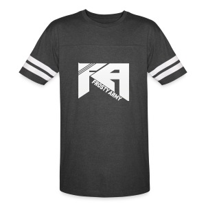 Mens Black/White Frosty Army Sports T-Shirt - Vintage Sport T-Shirt