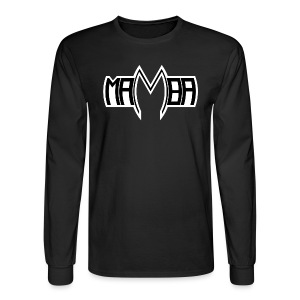 DJ Mamba Men's Long Sleeve Shirt - Men's Long Sleeve T-Shirt