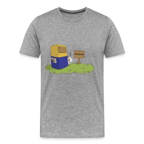 Statue - Premium Men's T-Shirt - Men's Premium T-Shirt
