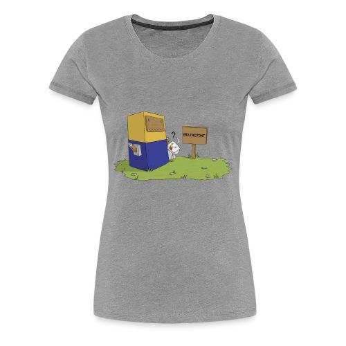 Statue - Premium Women's T-Shirt - Women's Premium T-Shirt