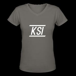 KSI Women's V Neck T-Shirt - Women's V-Neck T-Shirt