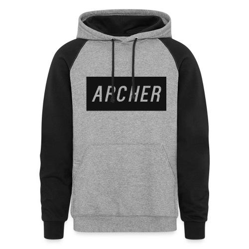 ItzArcherHD Mannen hoodie - Colorblock Hoodie
