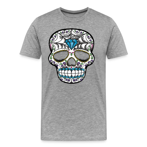Calavera Tattoo Design  - Men's Premium T-Shirt