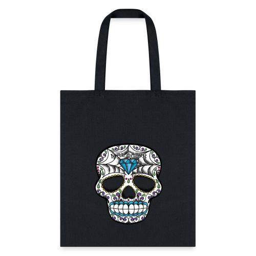 Calavera Tattoo Design  - Tote Bag