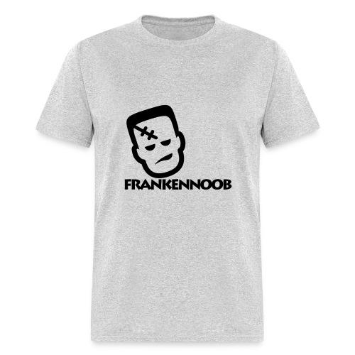 FrankenNoob Black Logo - Men's T-Shirt