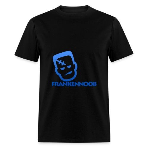 FrankenNoob Blue Logo - Men's T-Shirt