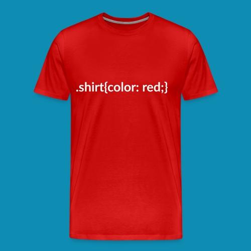 CSS Shirt Adult - Men's Premium T-Shirt