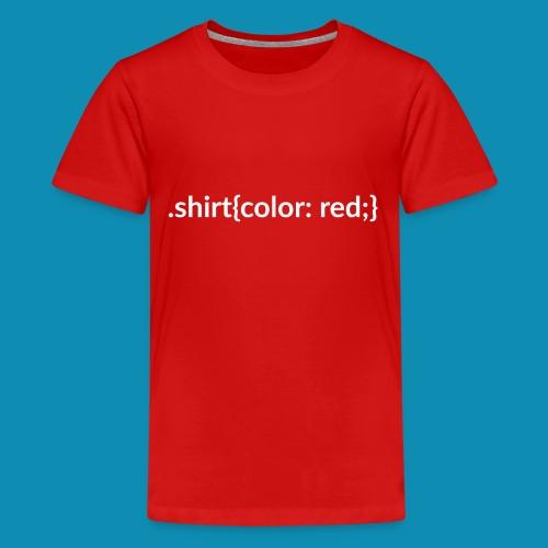 CSS Shirt Kids - Kids' Premium T-Shirt