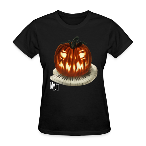 Piano Pumpkin ♀ - Women's T-Shirt