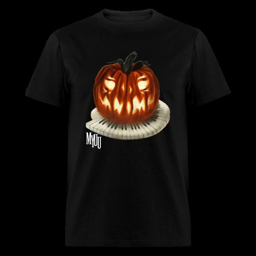 Piano Pumpkin ♂ - Men's T-Shirt