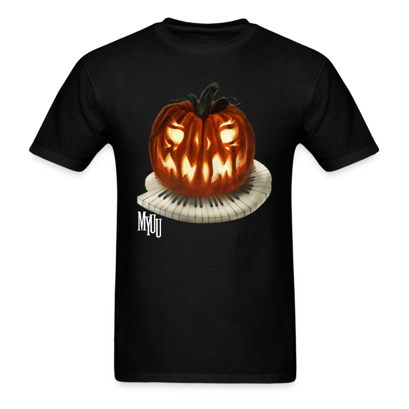 Piano Pumpkin ♂ - Men's T-Shirt