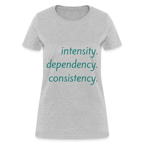 Intensity - Women's T-Shirt