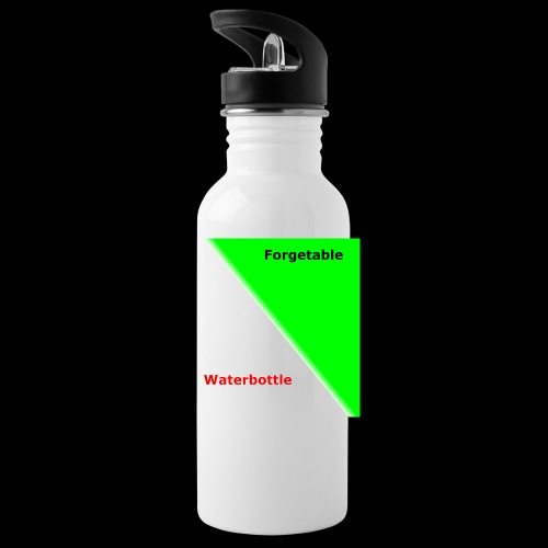 the forgetable waterbottle - Water Bottle