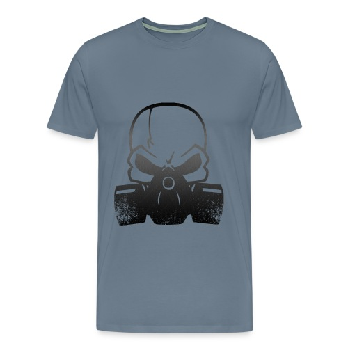 Skull gas mask - Men's Premium T-Shirt