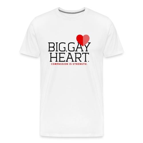 "Big Gay Heart"" T-Shirt - Men's Premium T-Shirt"