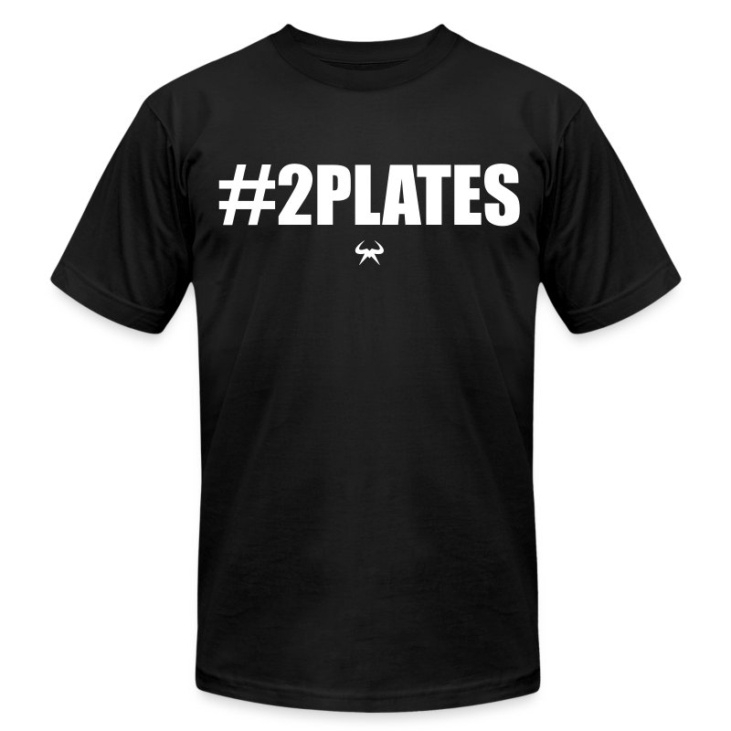 #2PLATES - Men's T-Shirt by American Apparel