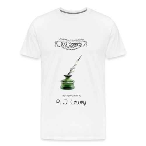 100 Sonnets T-Shirt - Men's Premium T-Shirt