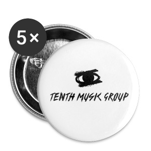 Tenth Music Group Buttons - Small Buttons