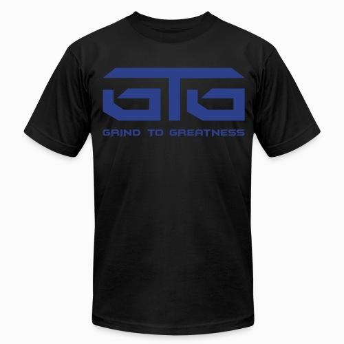 GTG - I WEAR MY GRIND ON MY SLEEVE - Men's Fine Jersey T-Shirt