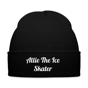 Allie The Ice Skater Hat - Knit Cap with Cuff Print