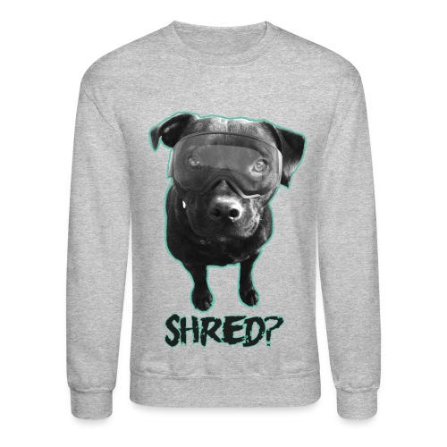 Shred Dog  - Crewneck Sweatshirt