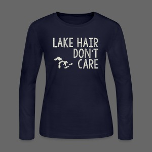 Lake Hair Don't Care - Women's Long Sleeve Jersey T-Shirt