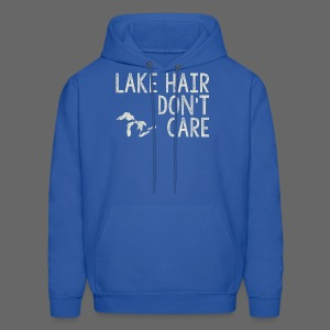 Lake Hair Don't Care - Men's Hoodie