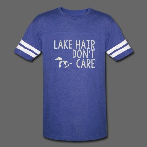 Lake Hair Don't Care - Vintage Sport T-Shirt
