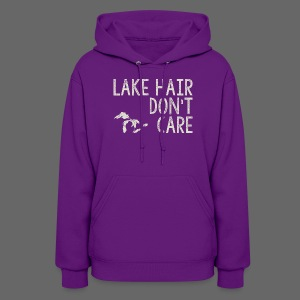 Lake Hair Don't Care - Women's Hoodie