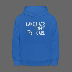 Lake Hair Don't Care - Kids' Hoodie