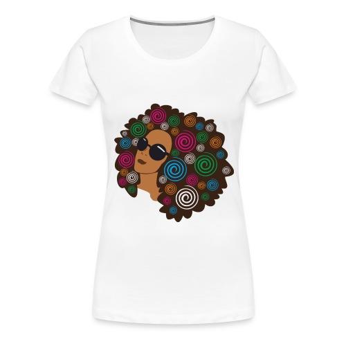Fro Garden - Women's Premium T-Shirt