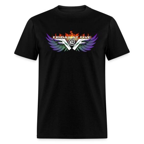 Friday At Five Logo Mens Tee - Men's T-Shirt