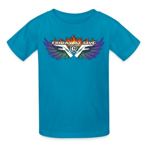 Friday At Five Logo Kids Tee - Kids' T-Shirt